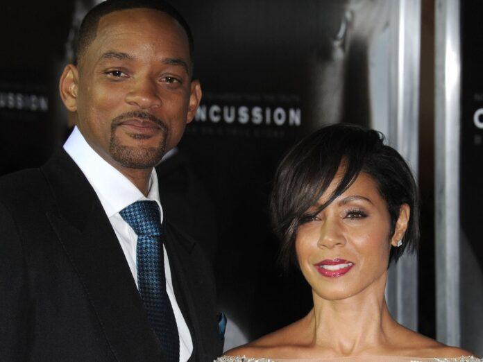 Jada Pinkett Smith und Will Smith bei einer Filmpremiere.