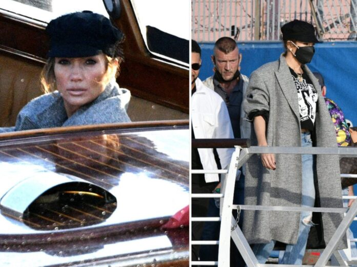 So stylte Jennifer Lopez ihre Bakerboy Cap.