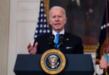 """Joe Biden hat seine """"Booster-Impfung"""" erhalten."""