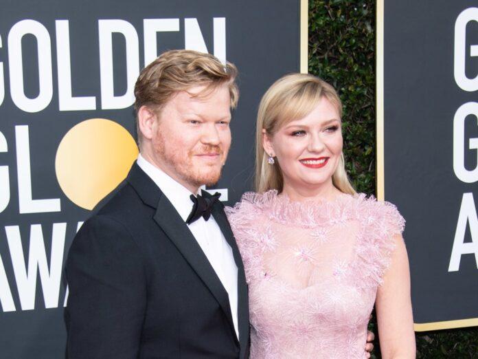 Kirsten Dunst und Jesse Plemons bei den Golden Globes im Januar 2020.