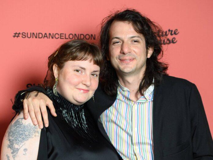 Lena Dunham mit Luis Felber im August 2021 in London.