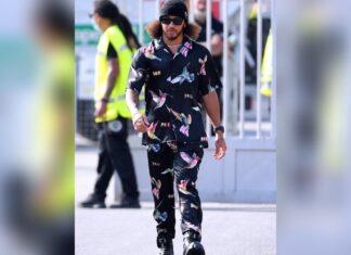 Lewis Hamilton beim GP in Italien