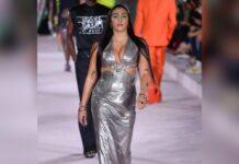 Lourdes Leon lief am Freitagabend über den Laufsteg der Versace-Show in Mailand.