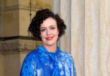 Regisseurin Maria Schrader bei einem Auftritt in Berlin.