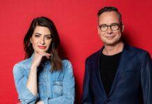 """Linda Zervakis und Matthias Opdenhövel haben mit """"Zervakis & Opdenhövel. Live."""" ihre eigene Sendung."""
