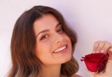 """Maxime Herbord suchte als """"Bachelorette"""" ihre große Liebe im Fernsehen."""