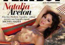 """Natalia Avelon wurde für den """"Playboy"""" von Michel Haddi fotografiert."""