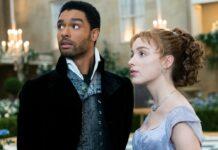 """""""Bridgerton"""" thront einsam an der Spitze der Netflix-Charts."""