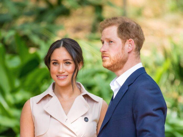 Prinz Harry und Herzogin Meghan wurden vom
