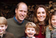 Die Cambridges: Prinz William und Herzogin Kate mit den Kindern George (l.)