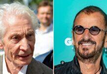 Beatles-Drummer Ringo Starr (r.) erinnert sich gern an die gemeinsame Zeit mit Stones-Drummer Charlie Watts zurück.