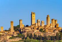 San Gimignano in der Toskana gehört seit 1990 zum Weltkulturerbes der UNESCO.