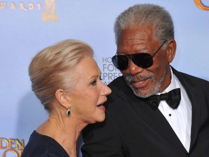 Helen Mirren und Morgan Freeman werden in