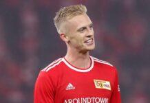 Timo Baumgartl steht normalerweise für den 1. FC Union Berlin auf dem Fußballfeld.