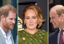 Entscheidet sich Adele für Prinz Harry (l.) oder Prinz William?
