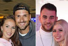 """Sowohl Christina Grass und Marco Cerullo (l.) als auch Serkan Yavuz und Carina Spack (r.) gingen als Paare aus """"Bachelor in Paradise"""" heraus."""