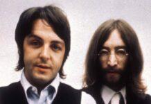Paul McCartney (li.) und John Lennon gegen Ende der Beatles-Zeit.