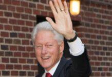 Bill Clinton ist aus dem Krankenhaus entlassen worden.