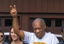 Bill Cosby unmittelbar nach seiner Freilassung im Juni 2021.