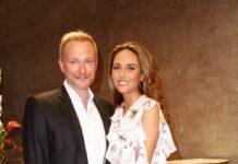 FDP-Chef Christian Lindner und RTL-Reporterin Franca Lehfeldt bei einem gemeinsamen Auftritt.