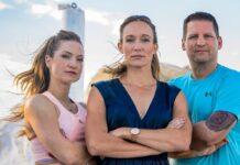 """Das Team von """"Leben leicht gemacht - The Biggest Loser"""": Neuzugang Sigrid Ilumaa (li.) neben Christine Theiss und Ramin Abtin."""