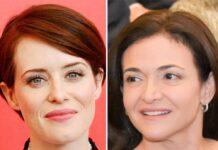 Claire Foy (li.) wird Facebook-Co-Chefin Sheryl Sandberg spielen.