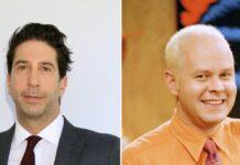 """David Schwimmer (l.) und James Michael Tyler standen gemeinsam für """"Friends"""" vor der Kamera."""