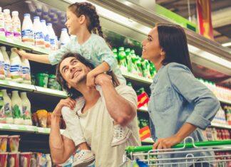 Nach oben und unten schauen macht beim Einkaufen durchaus Sinn.