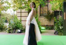 Emma Watson kam in einem Kleid aus recyceltem Stoff zum Earthshot Prize.