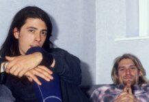 Dave Grohl (l.) und Kurt Cobain zu Nirvana-Zeiten