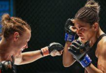 Halle Berry (r.) als MMA-Kämpferin Jackie Justice.