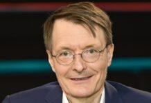 Karl Lauterbach bei einem TV-Auftritt.