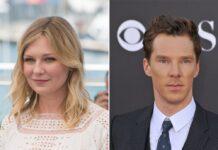 """Kirsten Dunst und Benedict Cumberbatch standen für """"The Power of the Dog"""" gemeinsam vor der Kamera."""