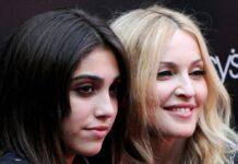Lourdes Leon (l.) 2010 mit Mutter Madonna.