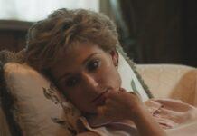 """Prinzessin Diana (Elizabeth Debicki) in Staffel fünf von """"The Crown""""."""