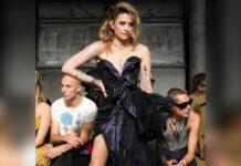 Paris Jackson auf der Pariser Fashion Week.