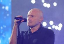 Phil Collins auf der Bühne