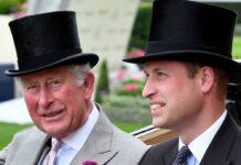 Prinz Charles und Prinz William beim Pferderennen in Ascot 2019.