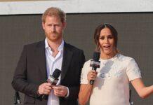 Prinz Harry und Herzogin Megan vor wenigen Wochen in New York.