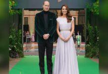 Starker Auftritt: Prinz William und Herzogin Kate beim Earthshot Prize 2021.