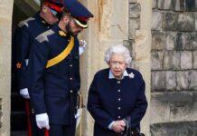 Die Queen bei einem Auftritt in Windsor.