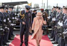 Die Queen bei einem Auftritt im Jahr 2020.