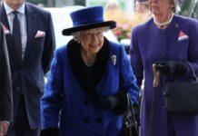 Queen Elizabeth II. in Ascot.