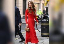 Herzogin Kate auf dem Weg zu einer Charity-Veranstaltung in London.
