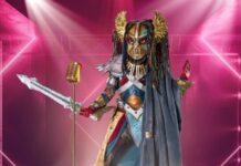 """Die Heldin wartet auf den Start der neuen Staffel von """"The Masked Singer""""."""