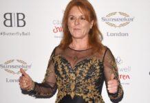 Sarah Ferguson hat in London gefeiert.