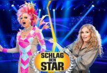 """Olivia Jones (l.) und Katja Burkard duellieren sich im November bei """"Schlag den Star""""."""