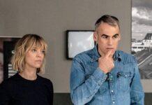 """Ellen Berlinger (Heike Makatsch) und Martin Rascher (Sebastian Blomberg) wissen im neuen """"Tatort: Blind Date"""" nicht weiter."""