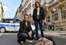 """""""Tatort: Unsichtbar"""": Anna Schneider (Milena Tscharntke) ist auf offener Straße tot zusammengebrochen"""