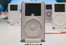 """Der erste iPod setzte noch auf das sogenannte """"Click Wheel""""."""